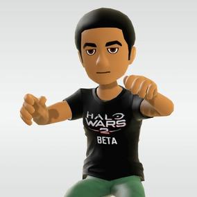Halo Wars 2 Beta: Camisa Para Avatar (hombre Y Mujer)