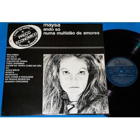 Maysa - Ando Só Numa Multidão De Amores - Lp - 1978