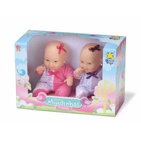 Boneca Bebê Mini Miudinhas 099 Divertoys Lindas Alive Friend