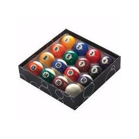 Jogo De Bolas Bilhar Snooker Sinuca 16 Bolas Numeradas 57mm