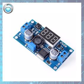Módulo Regulador De Tensão Lm2596 Com Display Arduino Pic