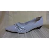 Zapatos Bajo Blanco Nuevos Blancos Liquidamos