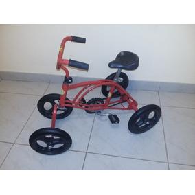 Cuatriciclo A Pedal Para Niños Asiento Regulable Exc. Estado