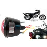 Lanterna Traseira Suzuki Intruder Adaptação, Com Vigia - Pt
