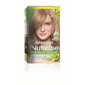 Nutrisse - Rubio Claro Ceniza 81 - Avena Garnier Pigmento