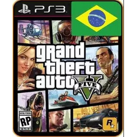 Gta V Gta 5 Ps3 Psn Midia Digital Legenda Pt-br