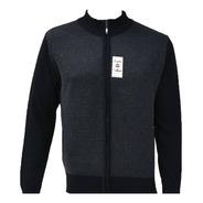 Suéter Para Hombre De Cierre Completo