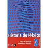 Historia De Mexico 3o. (mercado Libre); Patricia Montoya