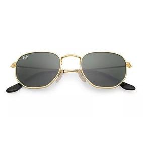 d25cbcd1bff9e Ray Ban Hexagonal Lente Prata Demolidor - Óculos no Mercado Livre Brasil