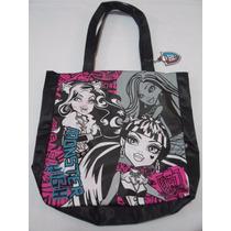 Bolsa Tote Monster High Original Negra