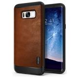 Forro Ringke Flex S En Cuero Lujo Para Samsung Galaxy S8