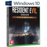 Resident Evil 7 Edición Oro - Windows 10 - Online