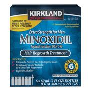 Minoxidil Kirkland 5% Solución Tópica 6 Meses *ms*
