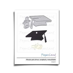 Suaje De Corte Graduación Birrete Para Sizzix Troquel #0805