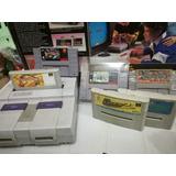 Combo Super Nintendo Set Completo Snes + 6 Juegos Gratis Nes