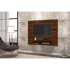 Painel Para Tv Até 55 Tv Sala Rustico Malbec - Dj Móveis