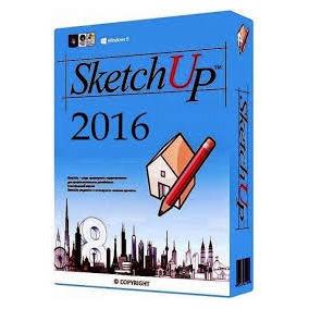 Sketchup Pro 2016 32 E 64bit + V-ray 2.0-português Brasil