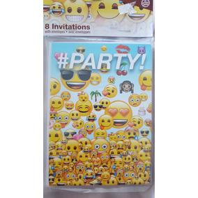 Invitaciones Emoji X8unidades