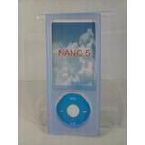 Capa Silicone Azul Nano 5 5º Geração Apple Ipod
