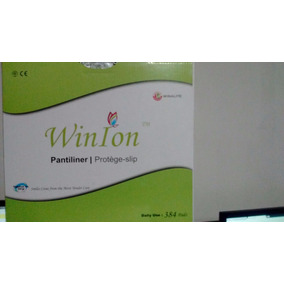 Kit De Pantiprotectores Saludableses Win Ion Biodegradables