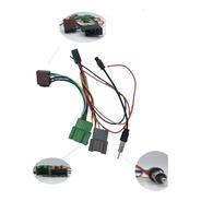 Plug Adap Ant + Chicote Conector Som Gm 2018 019 Onix Cobalt