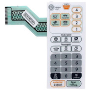 Membrana Teclado Microondas Consul Cmp25 Cmp 25ab Facilite