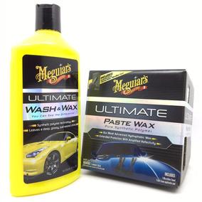 Shampoo Wash Wax + Cera Automotiva Ultimate Wax Meguiars
