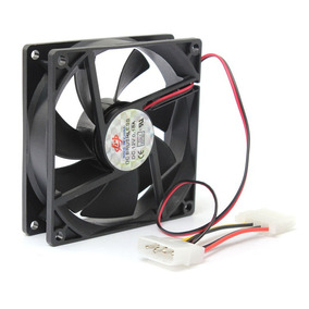 Fan Cooler Extractor Ventilador 9cm 90mm Pc Case Tienda
