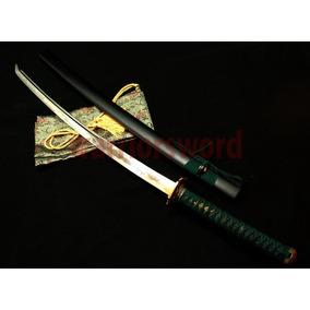 Japonês Samurai Sword Katana 1095 Aço Carbono De Alta Lâmina