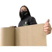 P Rollo Cartón Corrugado 20m2 Protección Envio Incluido