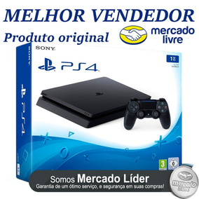 Playstation 4 Slim 1tb + Bolsa De Brinde - Nota Fiscal