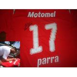 Autografiada!! Independiente Puma Motomel #17 Facu Parra !!