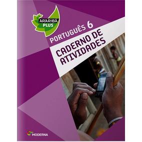 Projeto Araribá Plus Português 6º Ano - Caderno De Ativ