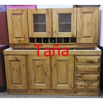 Mueble Cocina Bajomesada 1.60 Mt Romano Fabricantes En Lanus