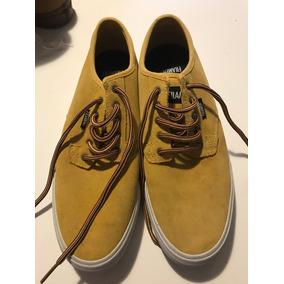 Zapatillas Filament Skate Vance Color Mostaza Talle 9.5 Us