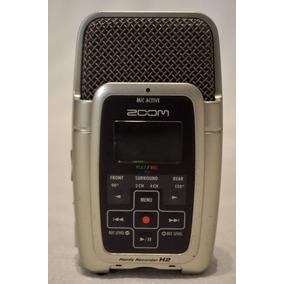 Gravador Digital Portátil Zoom H2 Handy Recorder