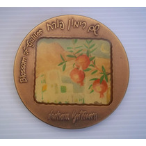 Israel Medalla Bronce 1987 Blossom Of Galilee Flores Nº4056