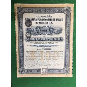1910 Accion Compania Bancaria De Fomento Y Bienes Raices