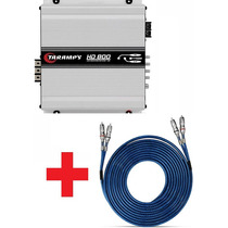 Modulo Amplificador Hd800 1ohm Frete + Cabo Taramps Blindado