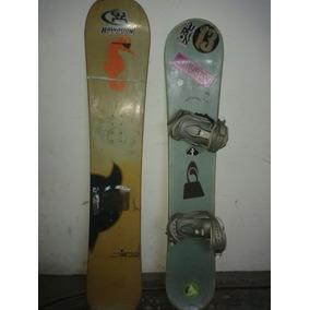 Tablas Snowboard Salomon Y World Usadas