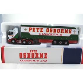 Caminhao Corgi Scania Curtainside Pete Osborne 1:50 Lindo