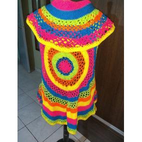 Chaleco Mandala Tejido Al Crochet- Alma Hippie
