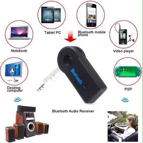 Receptor Audio Bluetooth Plug 3.5mm Aux Recargable Inalambri