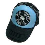 Gorras Trucker Hf ®  Bull Terrier Celeste En Stock Original