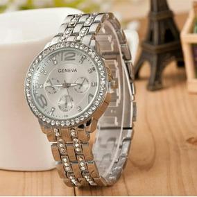f18677a6219 Relógio Feminina Geneva Plata - Relógios no Mercado Livre Brasil