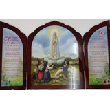 Tríptico De La Virgen De Fátima.