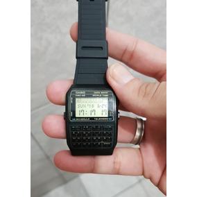 e679c1a9242 Relogio Casio Calculadora Dourado Data Bank Dbc 610 - Relógios De ...