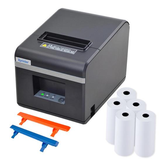 Impresora Termica Comandera Xprinter Tickeadora + 5 Rollos