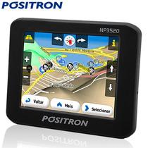 Navegador Gps Positron Np3520 - 3,5 Pol Touch C/ Multimidia