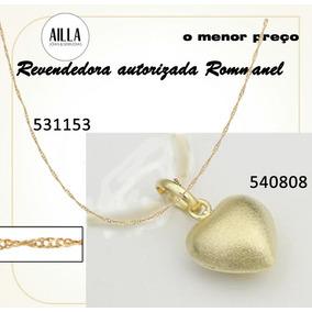 Gargantilha Corrente Pingente Rommanel Coraçao 540808 531153
